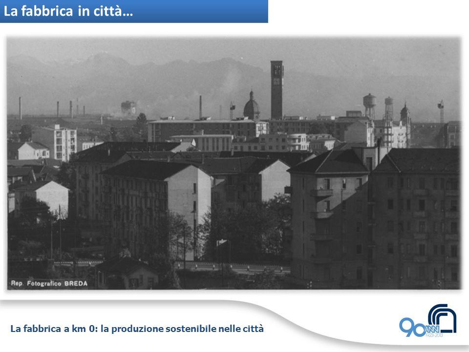 La fabbrica a km 0: la produzione sostenibile nelle città La fabbrica in città… Taranto