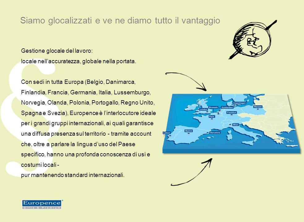 Gestione glocale del lavoro: locale nellaccuratezza, globale nella portata.