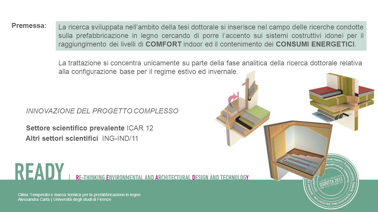 Alessandra Carta | Università degli studi di Firenze Premessa: La ricerca sviluppata nellambito della tesi dottorale si inserisce nel campo delle rice