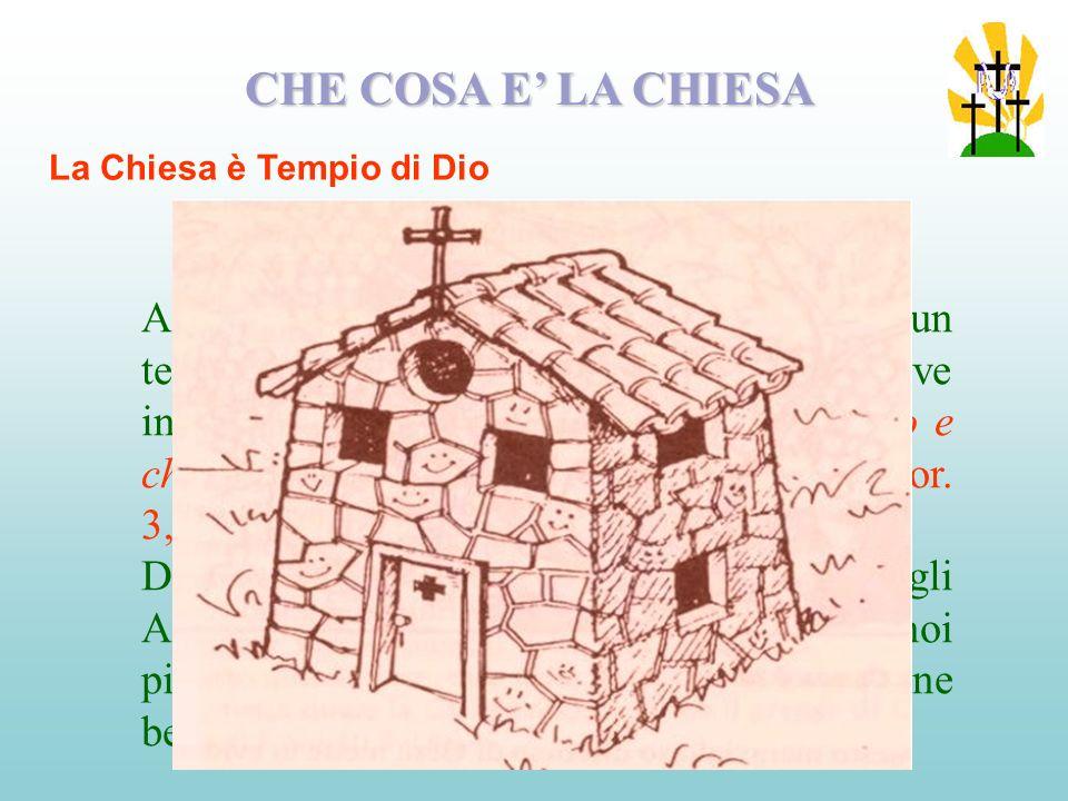 Dove non cè comunione in Cristo non cè la Chiesa