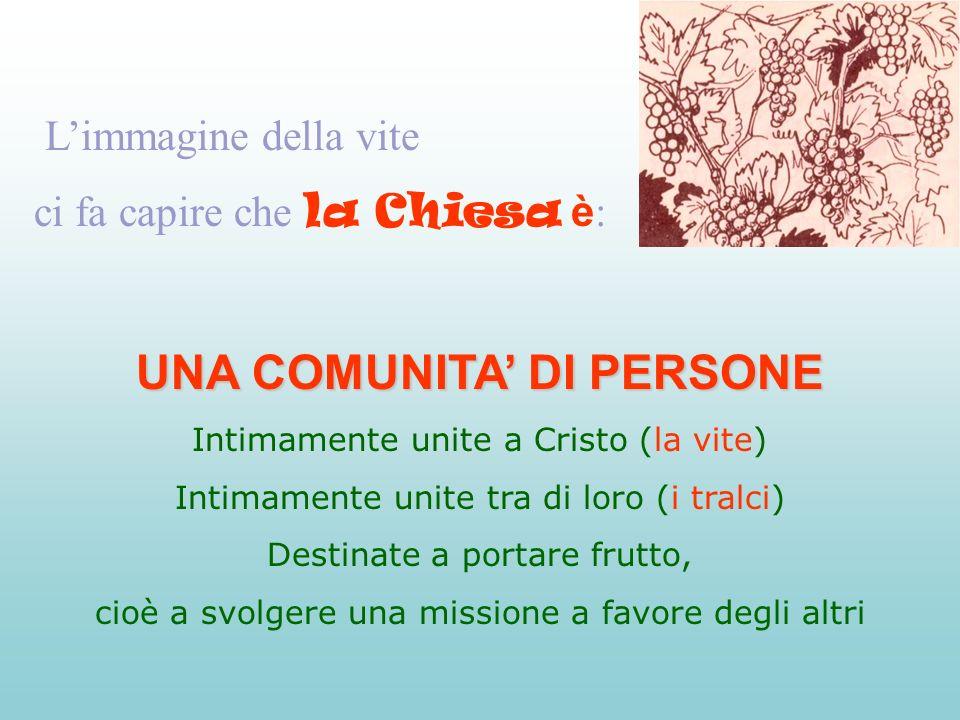 La Chiesa è la comunità dei figli di Dio Se Dio ci trasmette la sua vita divina, noi diventiamo suoi figli.