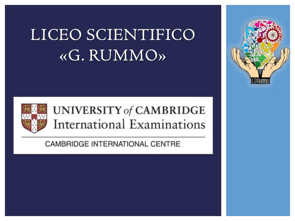UNIVERSITY OF CAMBRIDGE INTERNATIONAL EXAMINATIONS (CIE) E il più grande fornitore al mondo di titoli di studio per ragazzi in età compresa dai 14 ai 19 anni.