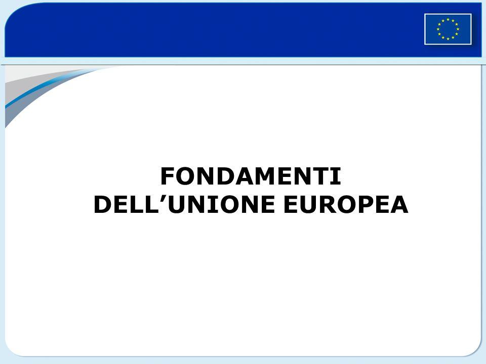 FONDAMENTI DELLUNIONE EUROPEA