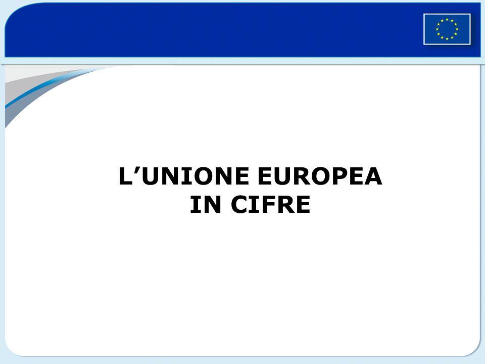 LUNIONE EUROPEA IN CIFRE