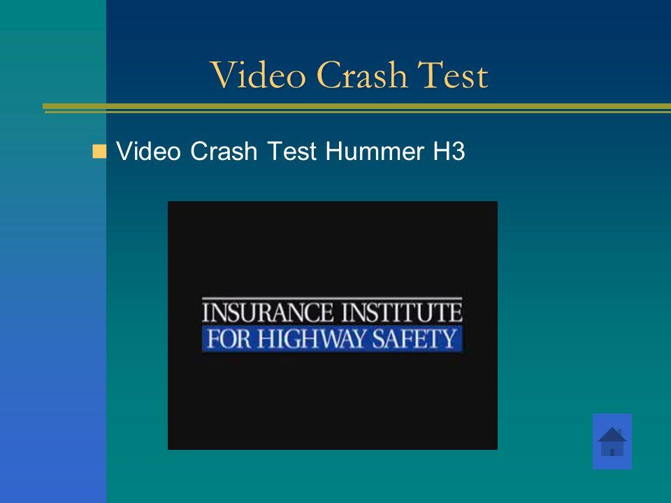 Video Crash Test Video Crash Test Hummer H3