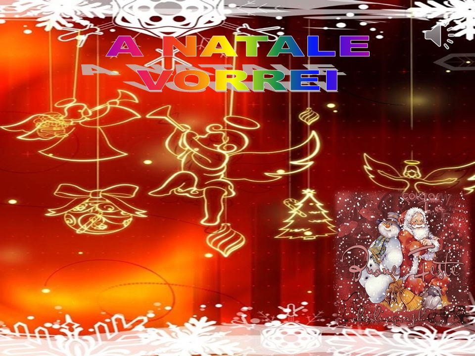 Natale di luce splendente Nasce Gesù sorridente.