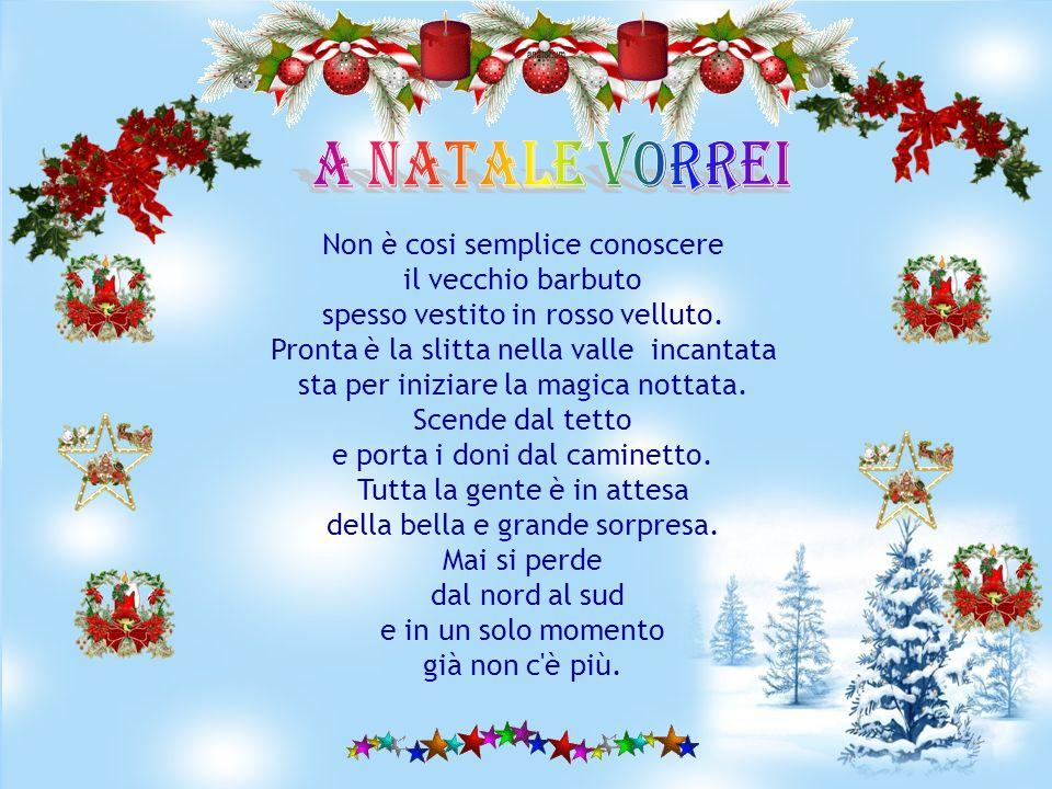 Anche quest'anno arriva Natale pieno di luci e di colori, è un'atmosfera assai speciale e noi tutti ci prepariamo a festeggiare in allegra compagnia e