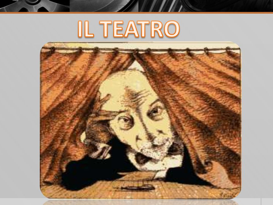 Il teatro italiano prima di Pirandello Teatro Borghese Stessi canoni del Verismo, ma con un ruolo maggiore per il sentimento.