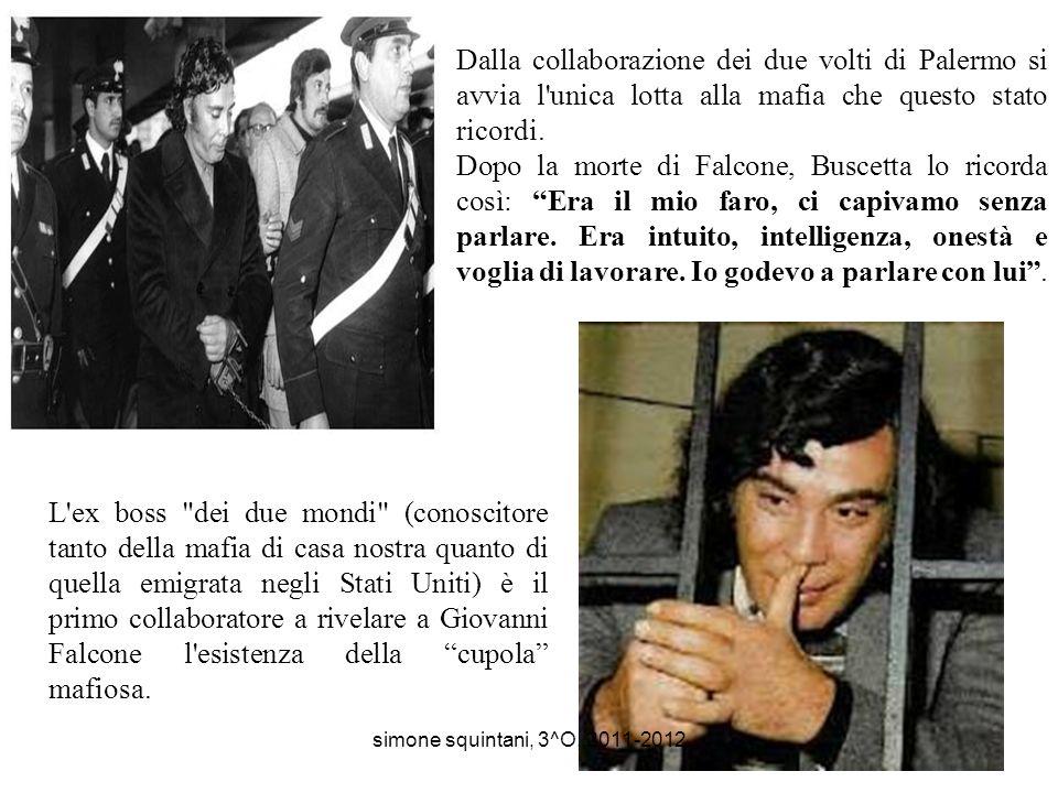Nel 1984 il giudice Falcone vola in Brasile per l'estradizione in Italia di un criminale. Ne torna con un pentito eccellente. Falcone racconterà che p
