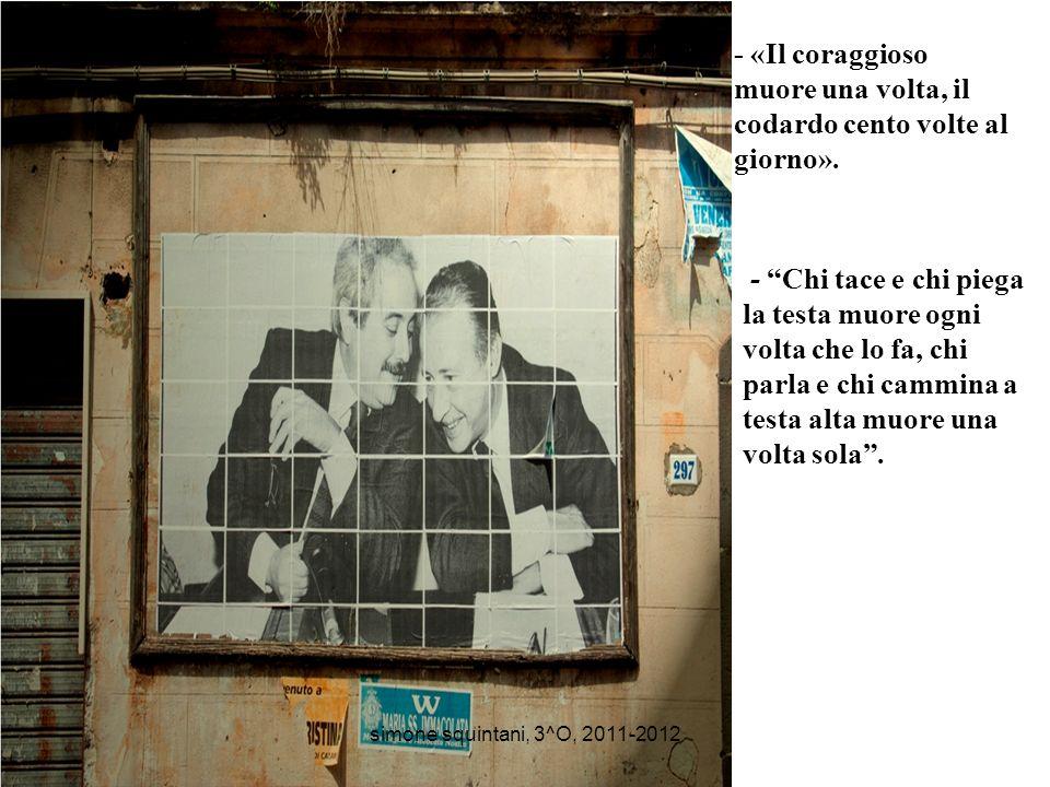 Il 23 maggio 2012 sarà il ventesimo anniversario della strage di Capaci e noi vogliamo ricordarlo, noi vogliamo sapere…perché i mafiosi avevano davver
