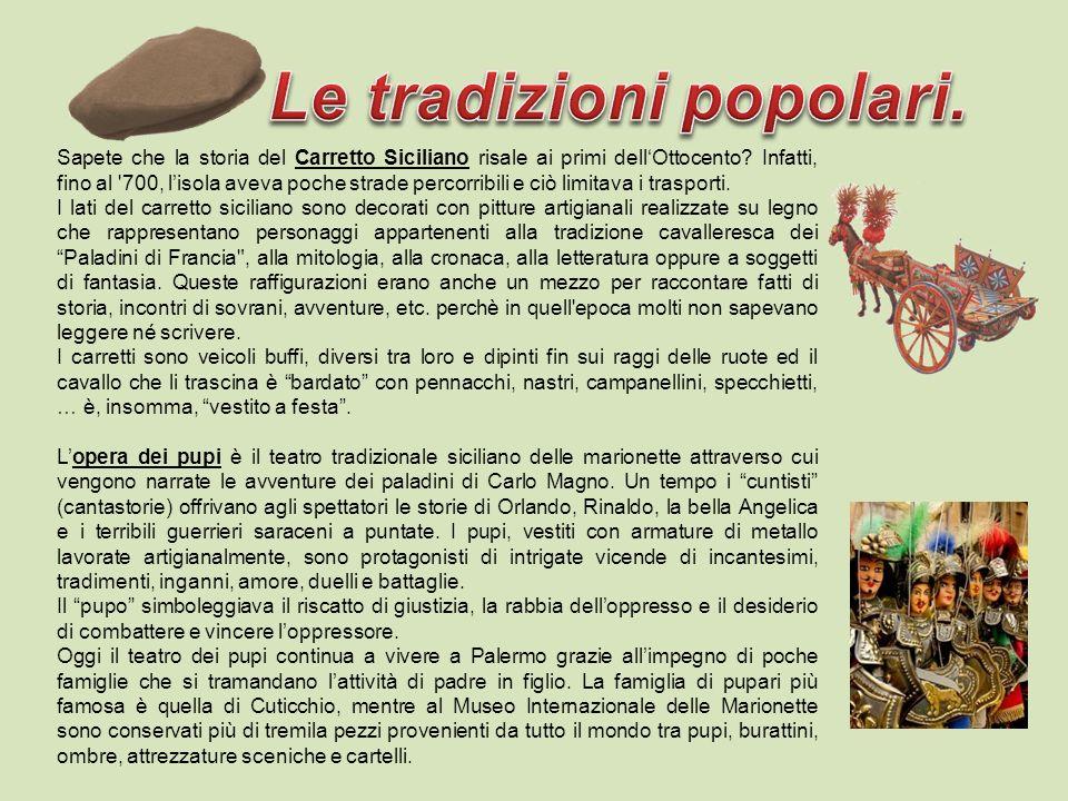 Sapete che la storia del Carretto Siciliano risale ai primi dellOttocento.