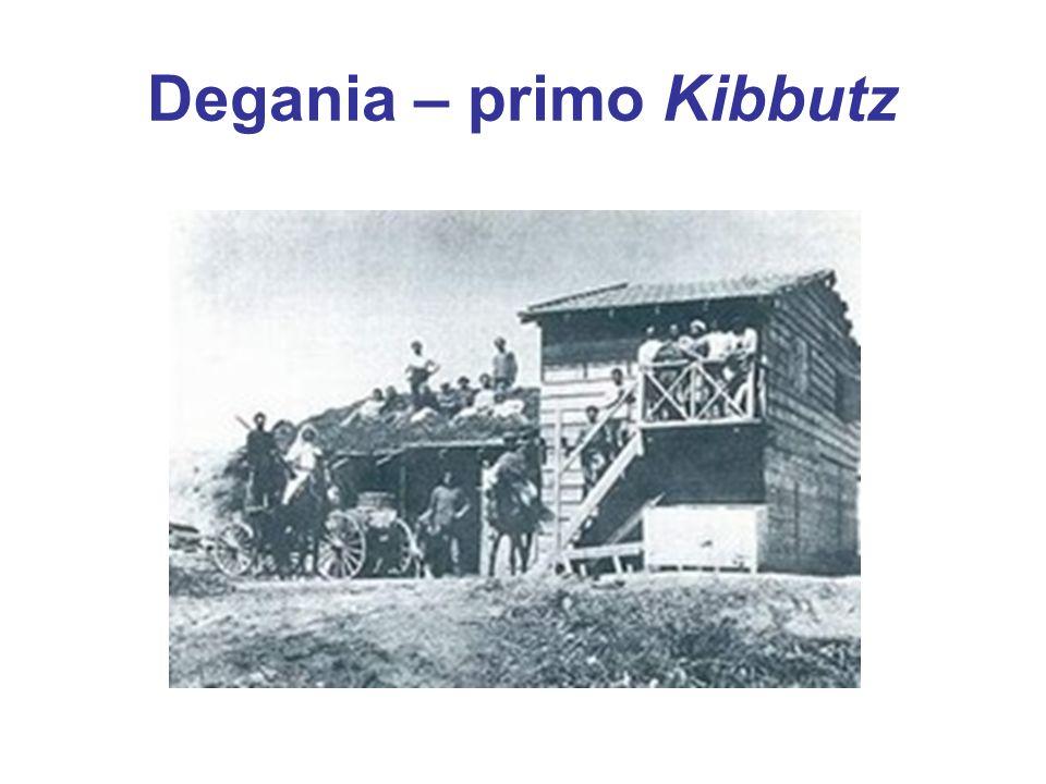 Degania – primo Kibbutz