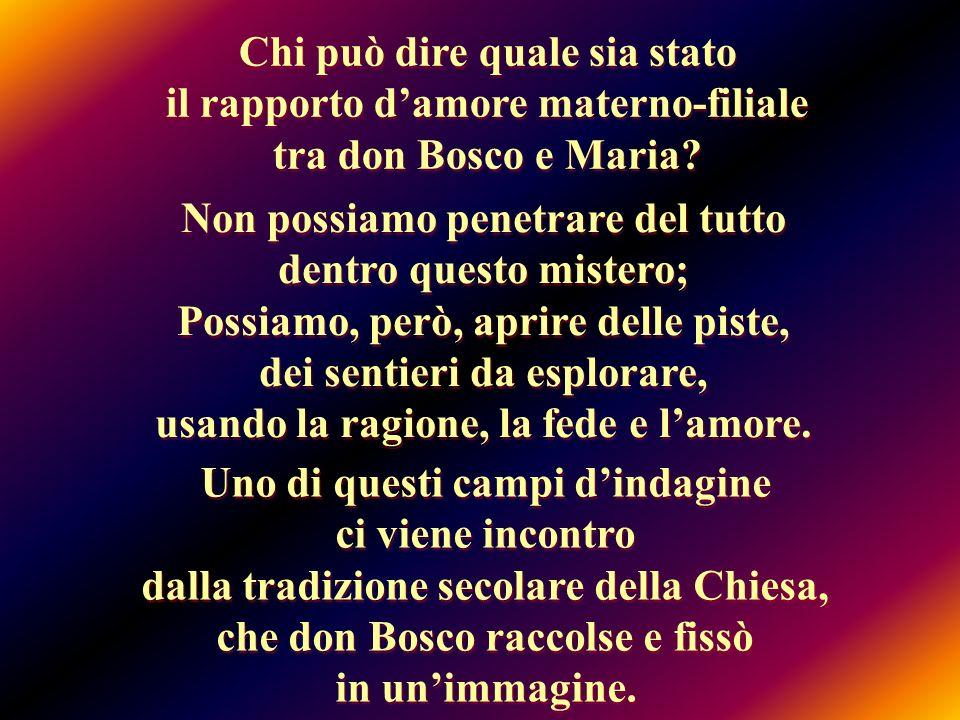 Diverse istanze hanno determinato Don Bosco alla scelta di questa immagine: motivazioni teologiche, ecclesiali, politiche, Diverse istanze hanno determinato Don Bosco alla scelta di questa immagine: motivazioni teologiche, ecclesiali, politiche, … e soprattutto educative.