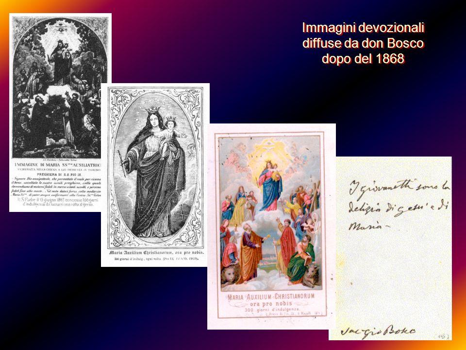 Più in basso i santi Apostoli e gli Evangelisti … quasi esclamando: Regina Apostolorum ora pro nobis.