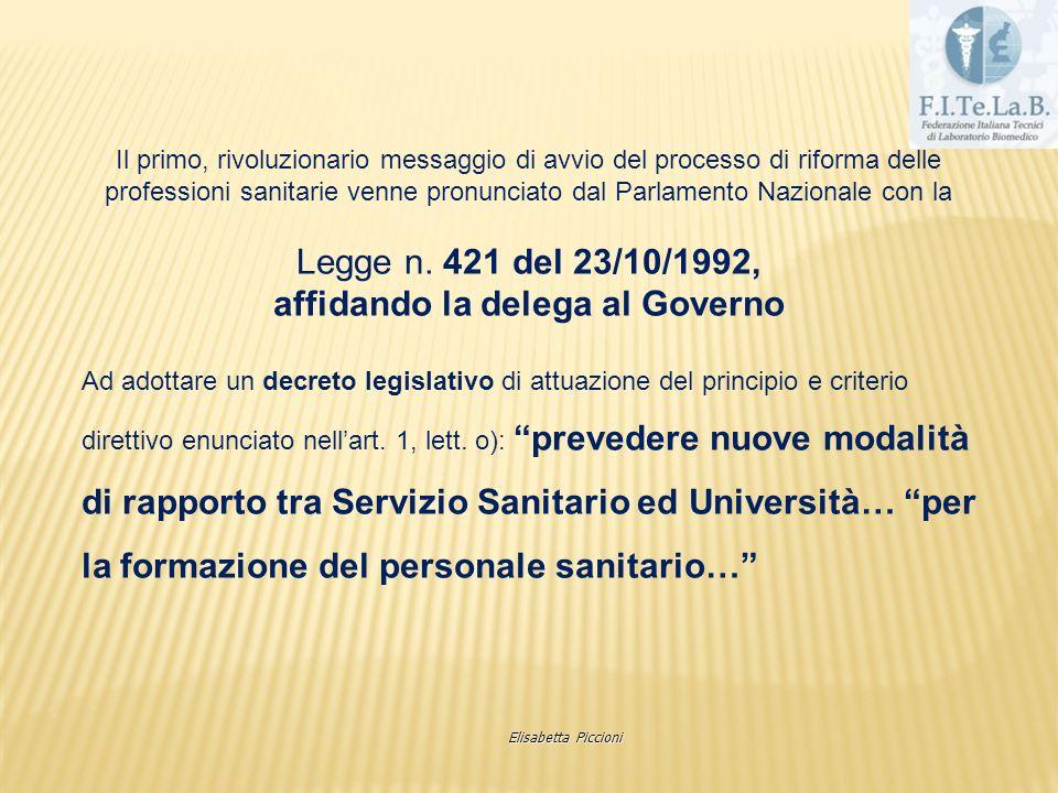 3892 4 aree 22 professioni con profilo Elisabetta Piccioni