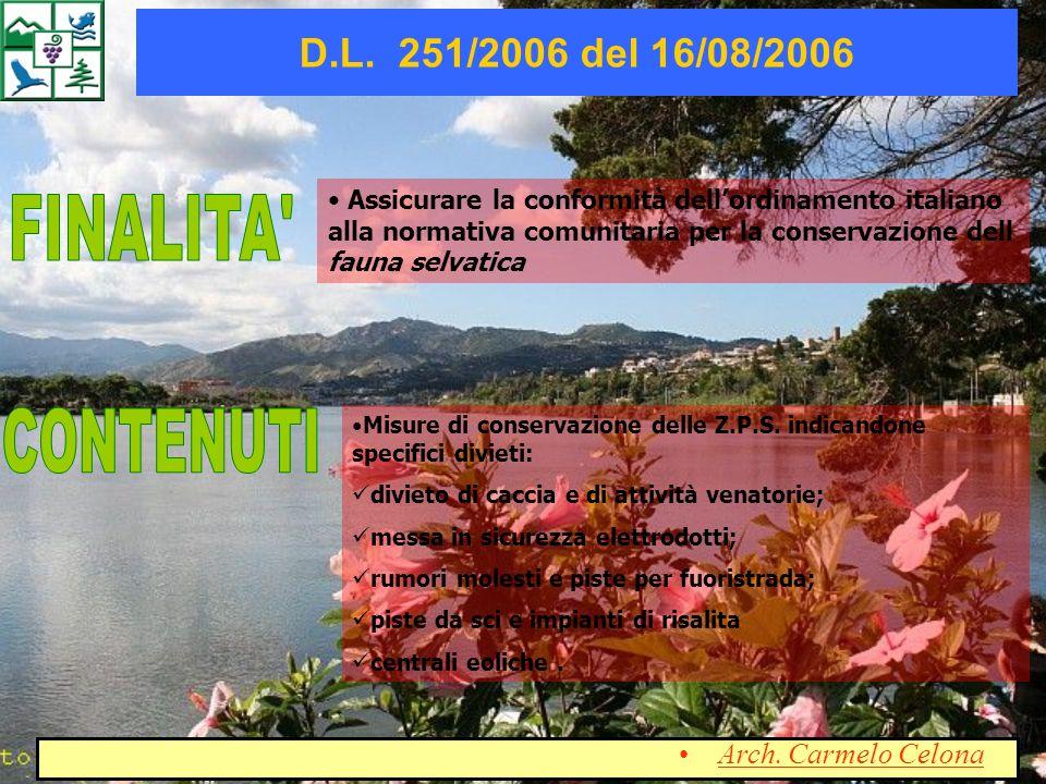 Assicurare la conformità dellordinamento italiano alla normativa comunitaria per la conservazione dell fauna selvatica Misure di conservazione delle Z