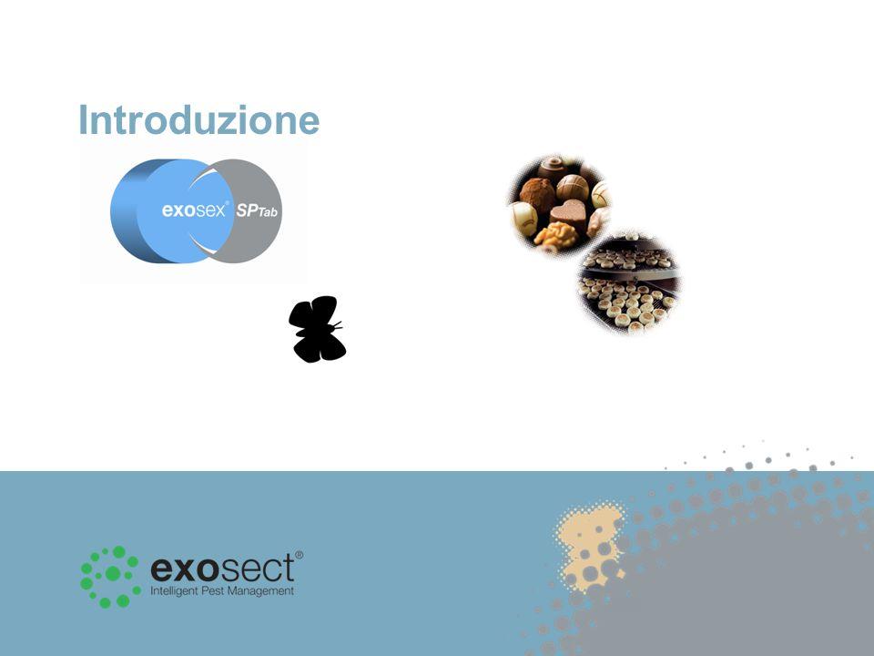 Diversamente dalle trappole a feromoni tradizionali che monitorano il numero di individui, Exosex SPTab è un sistema di Auto-Confusione che impiega i feromoni per controllare i lepidotteri delle derrate alimentari.