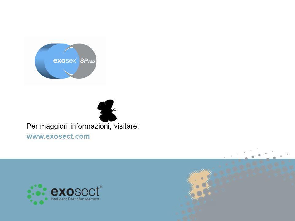 Per maggiori informazioni, visitare: www.exosect.com