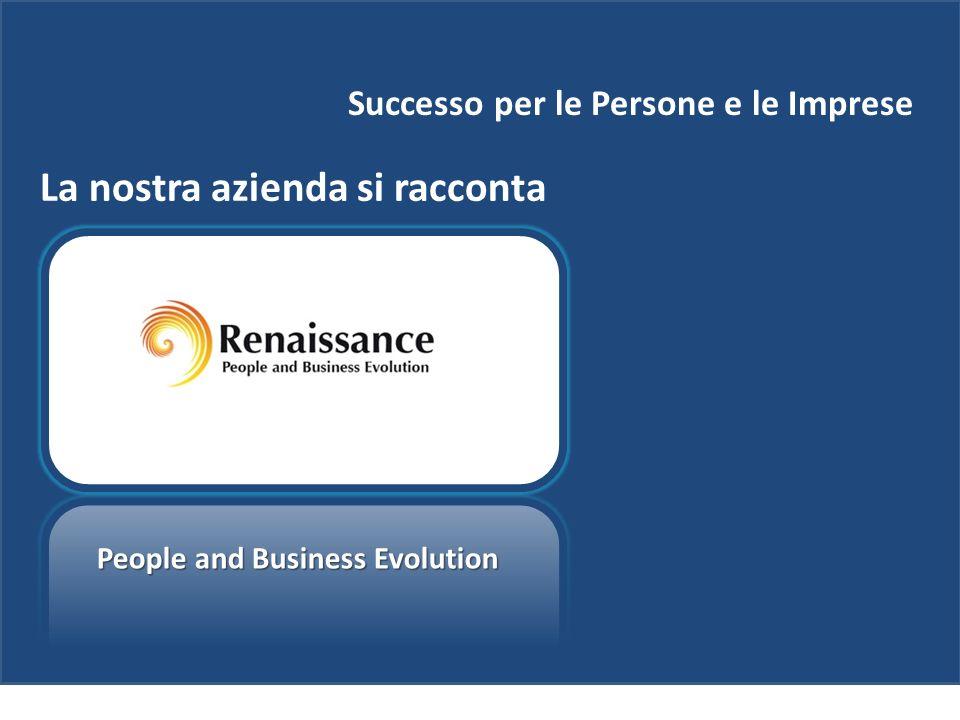 Successo per le Persone e le Imprese La nostra azienda si racconta People and Business Evolution