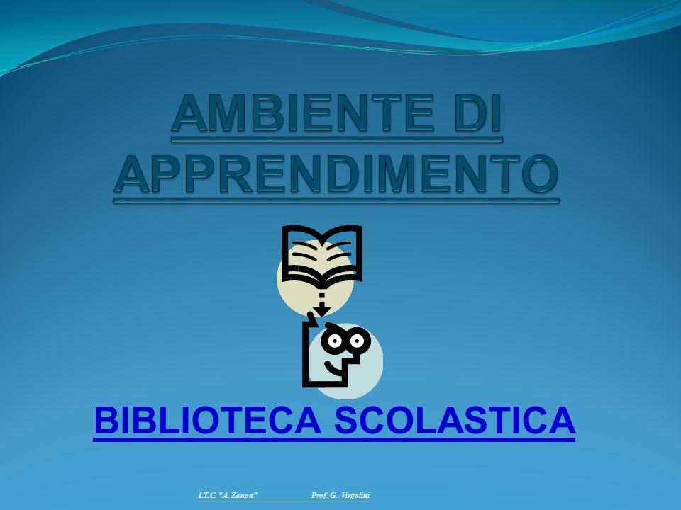 BIBLIOTECA SCOLASTICA I.T.C.