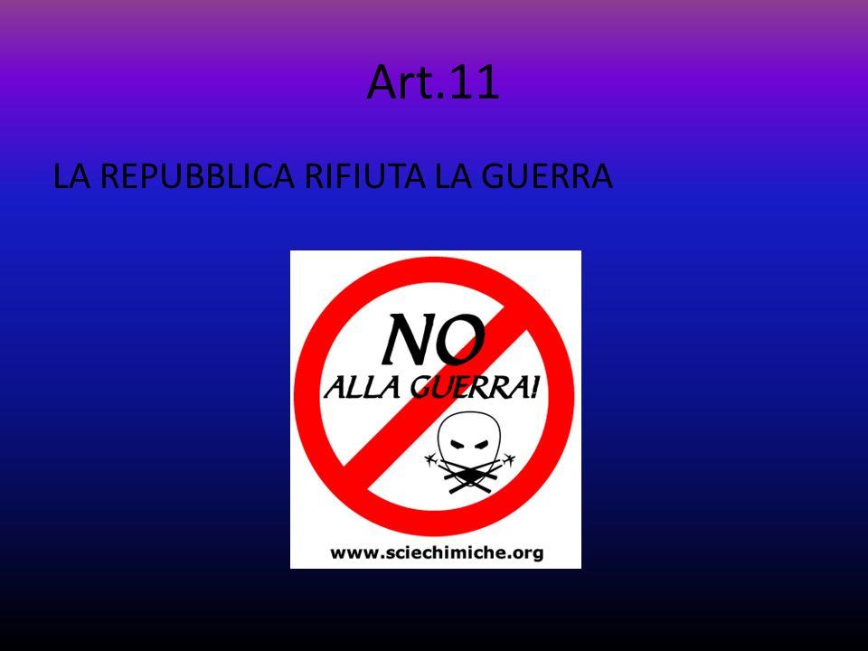 Art.10 LA REPUBBLICA PROTEGGE GLI STRANIERI, ADEGUANDOSI AL DIRITTO INTERNAZIONALE E LI ACCOGLIE SE SONO PRIVATI DELLA LIBERTA NEL LORO PAESE