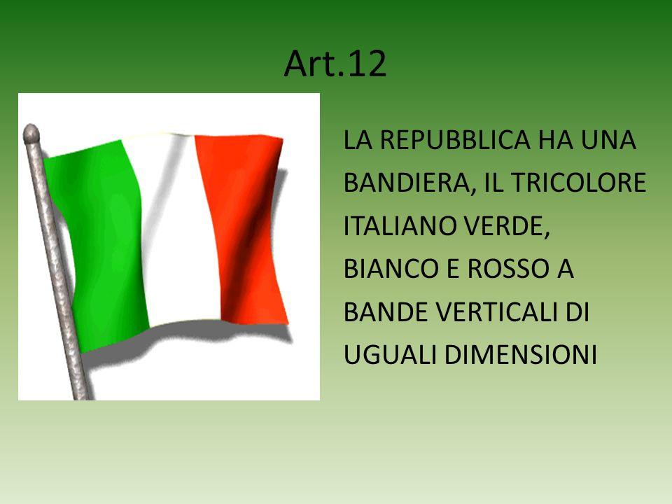 Art.11 LA REPUBBLICA RIFIUTA LA GUERRA