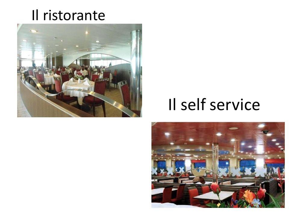 Il ristorante Il self service