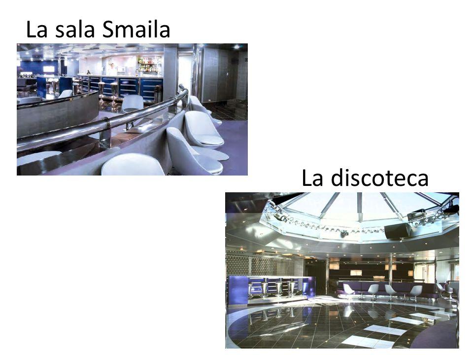 La sala Smaila La discoteca
