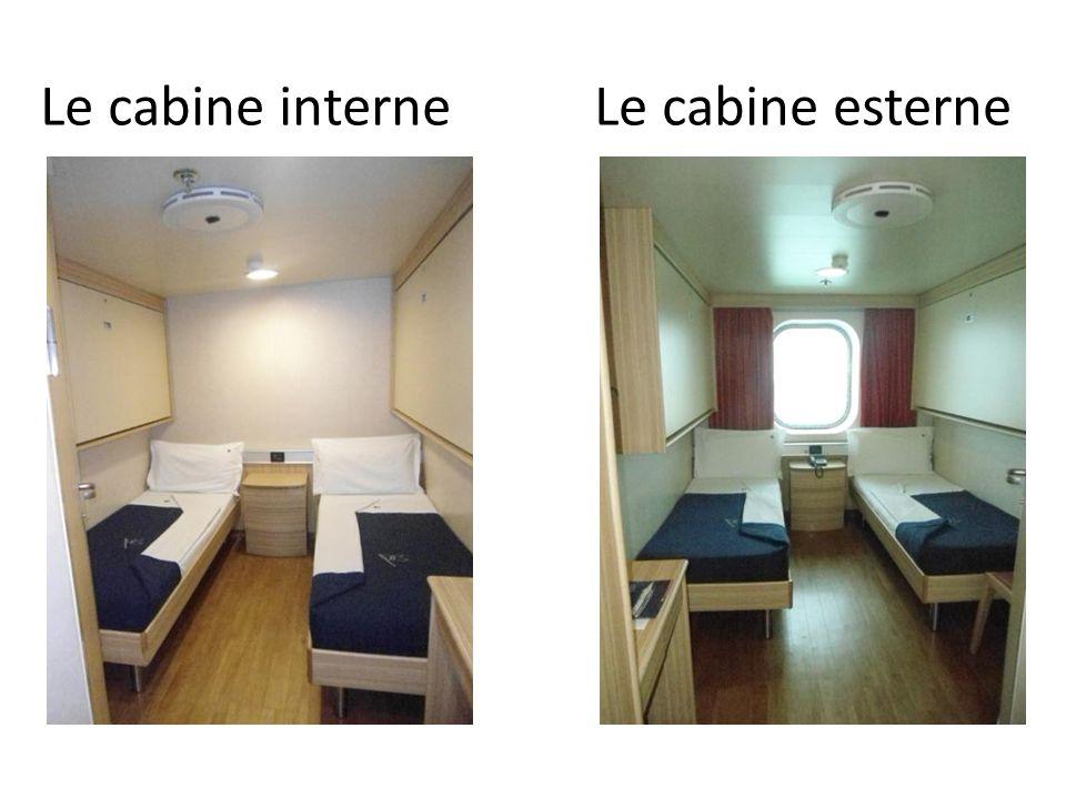Le cabine interneLe cabine esterne