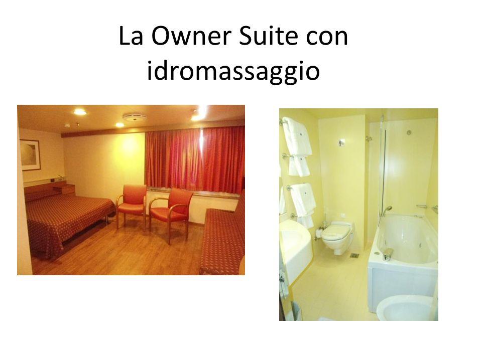 La Owner Suite con idromassaggio