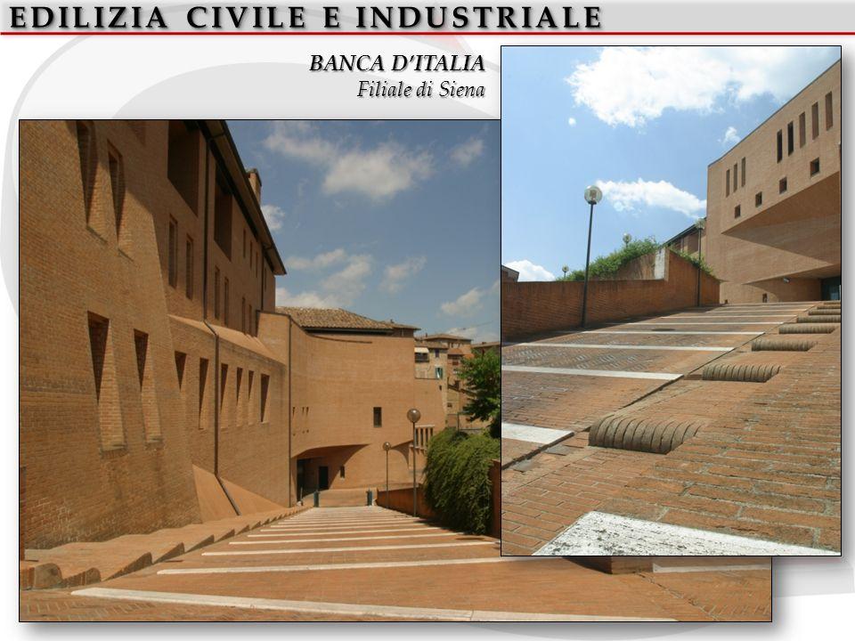 EDILIZIA CIVILE E INDUSTRIALE BANCA DITALIA Filiale di Siena