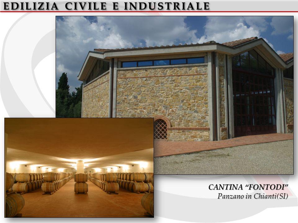 EDILIZIA CIVILE E INDUSTRIALE CANTINA FONTODI Panzano in Chianti(SI)