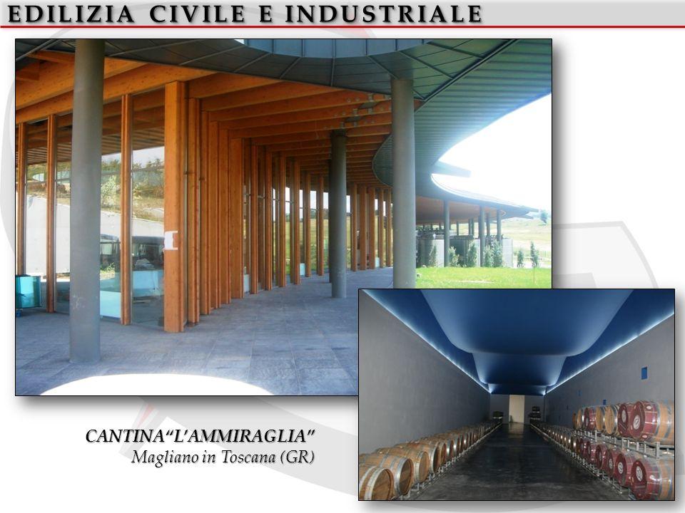EDILIZIA CIVILE E INDUSTRIALE CANTINALAMMIRAGLIA Magliano in Toscana (GR)