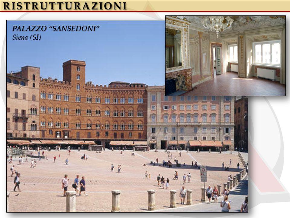 RISTRUTTURAZIONIRISTRUTTURAZIONI PALAZZO SANSEDONI Siena (SI)