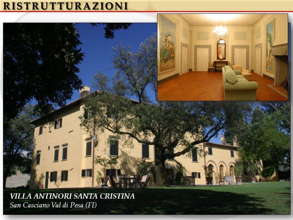 RISTRUTTURAZIONIRISTRUTTURAZIONI VILLA ANTINORI SANTA CRISTINA San Casciano Val di Pesa (FI)