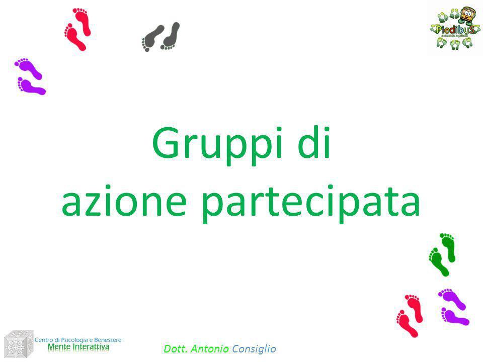Gruppi di azione partecipata Dott. Antonio Consiglio