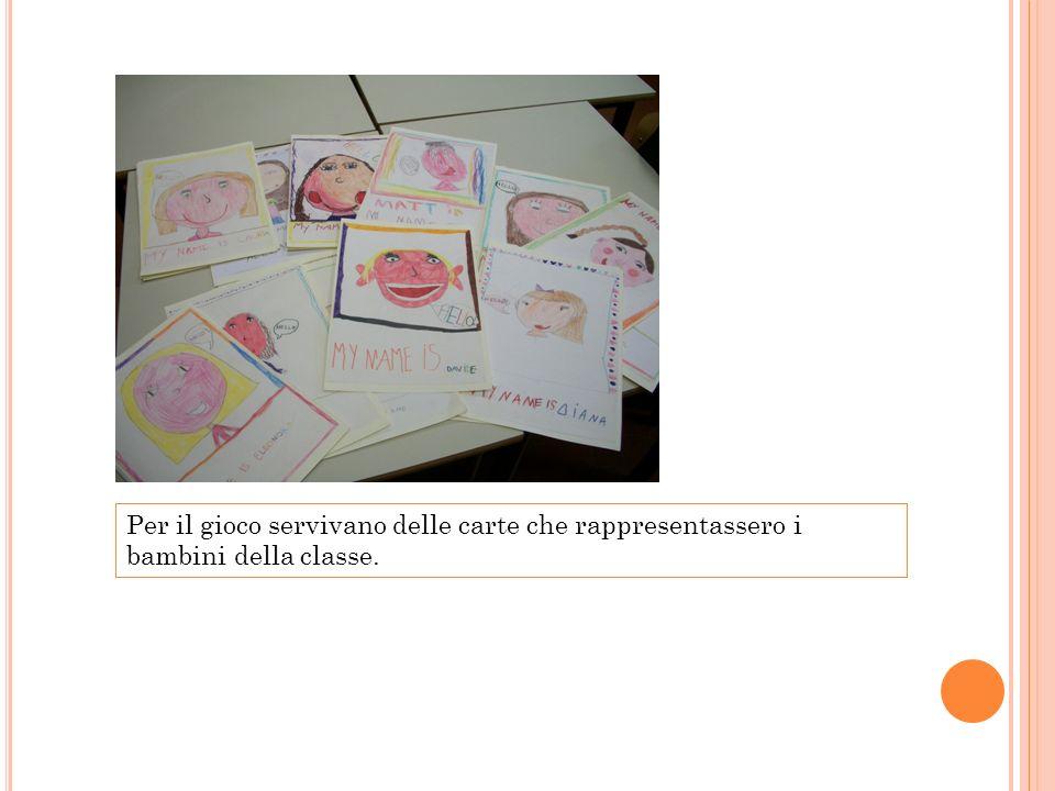 Questi sono i ritratti di alcuni dei bambini della classe 2 A