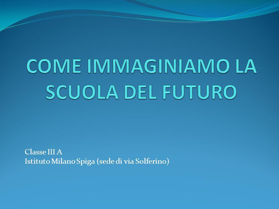 Classe III A Istituto Milano Spiga (sede di via Solferino)