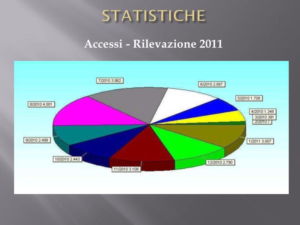 Accessi - Rilevazione 2011
