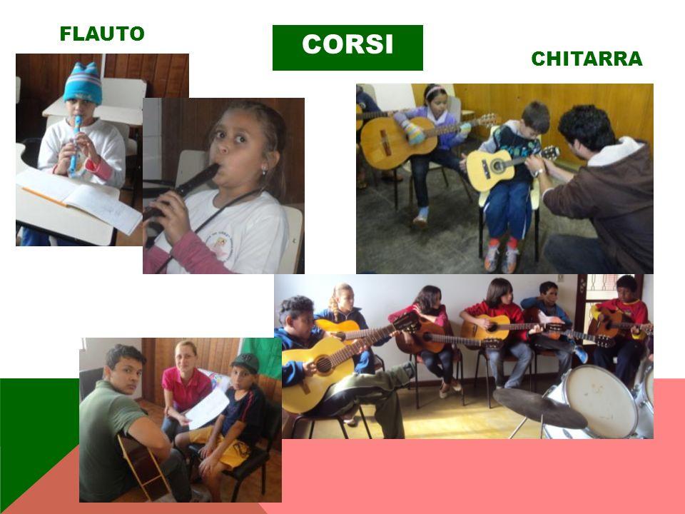 CORSI FLAUTO CHITARRA