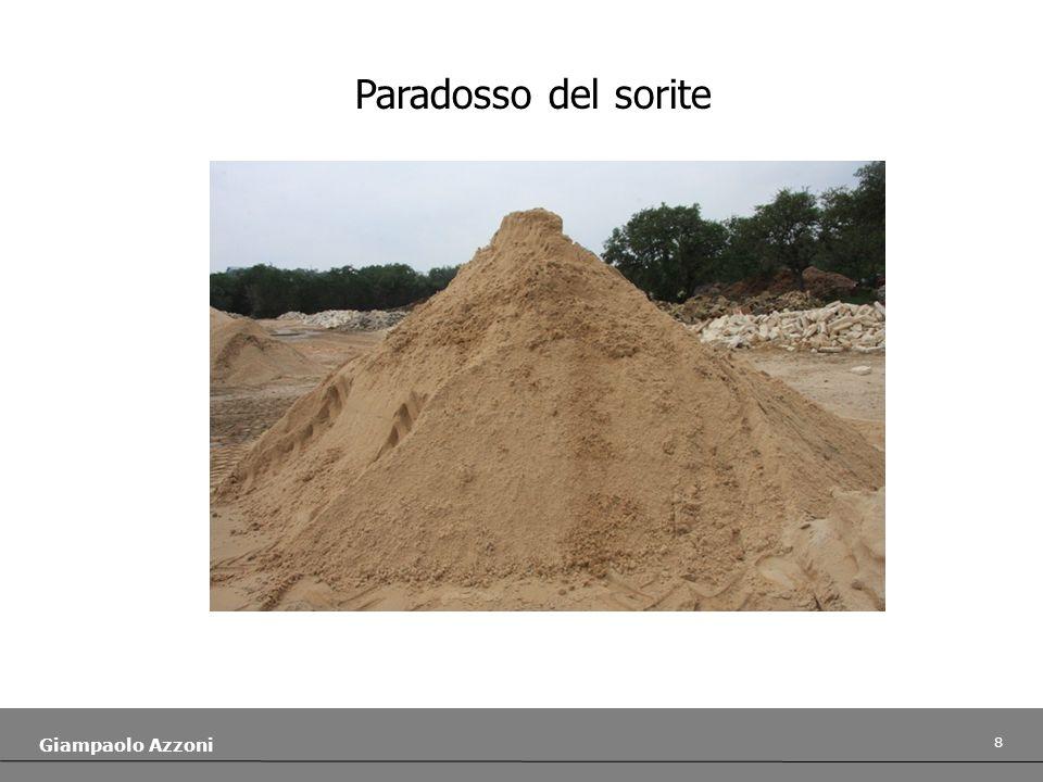 8 Giampaolo Azzoni Paradosso del sorite