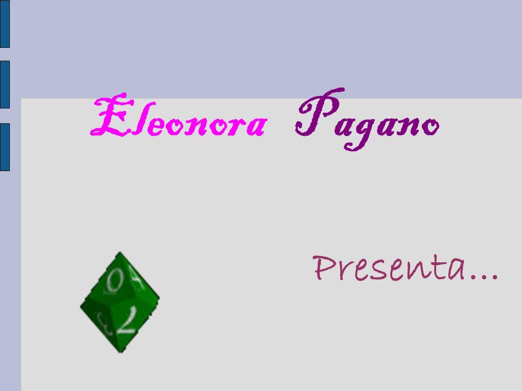 Eleonora Pagano Presenta...