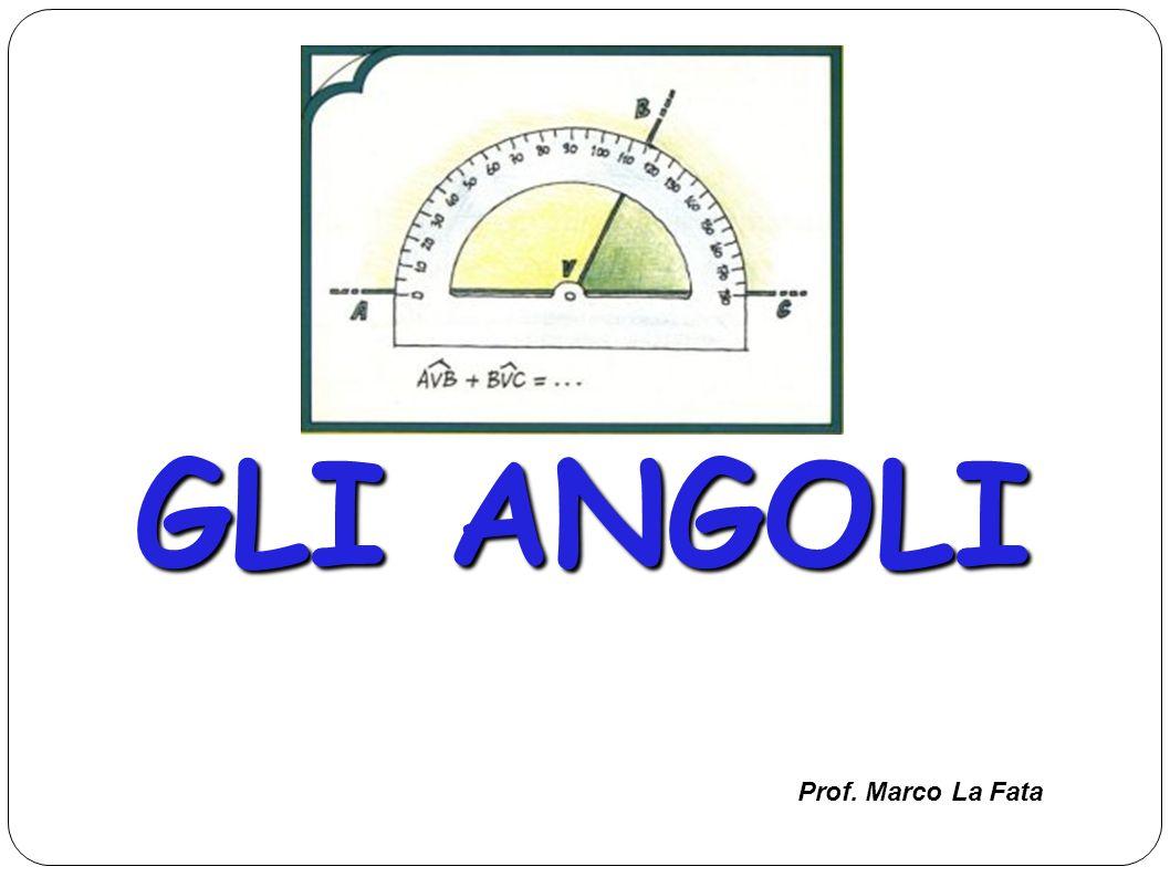 L unità di misura della ampiezza di un angolo è il GRADO che rappresenta la 360ntesima parte dellangolo giro.