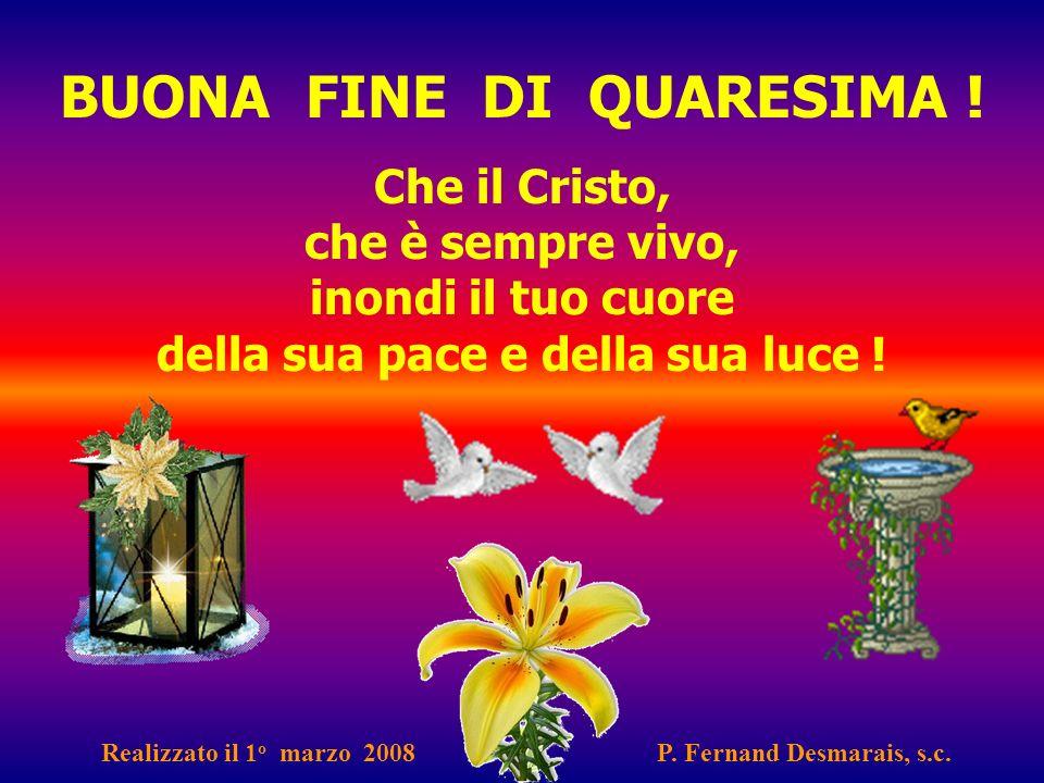 Salita verso la Pasqua Quaresima 2009 Cammino verso la Resurrezione