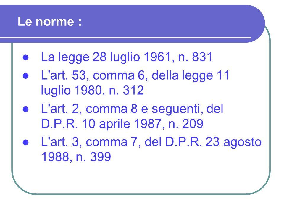 C.M.n. 206 del 26-7-1990; C.C.N.L. 4-8-1995 art. 66 c.7; C.M.