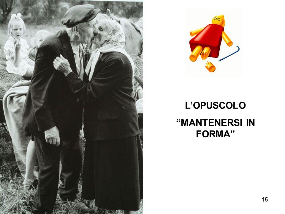 15 LOPUSCOLO MANTENERSI IN FORMA