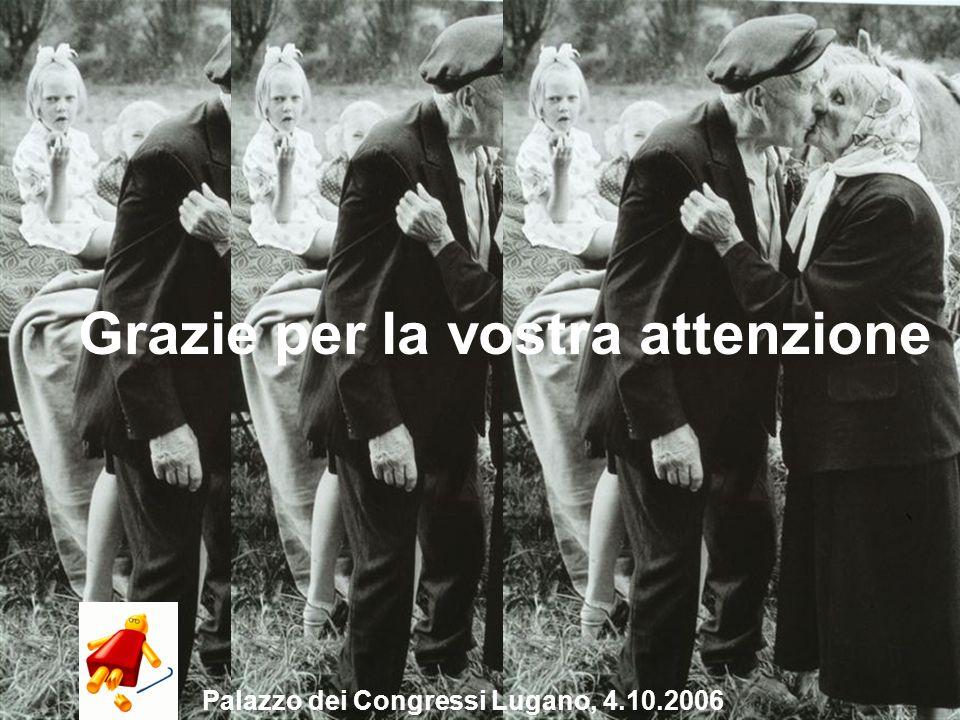 17 Grazie per la vostra attenzione Palazzo dei Congressi Lugano, 4.10.2006
