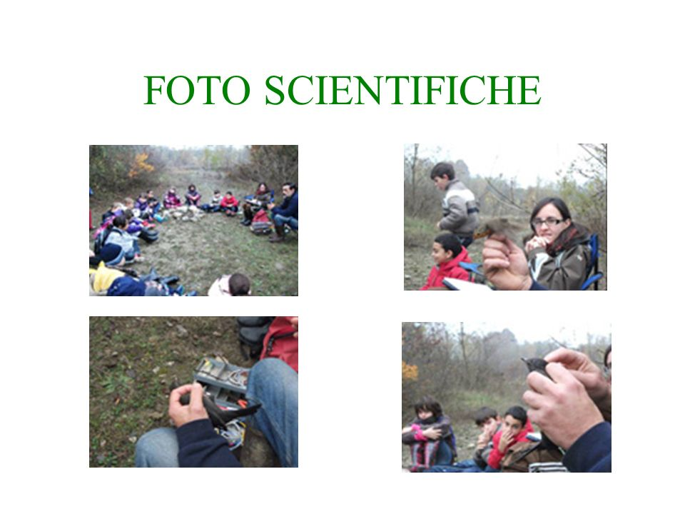 FOTO SCIENTIFICHE