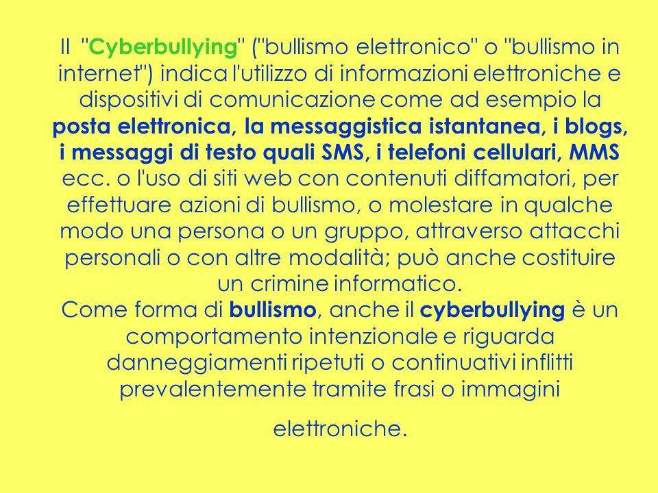 Dalla Relazione sulla condizione dellinfanzia e delladolescenza in Italia.