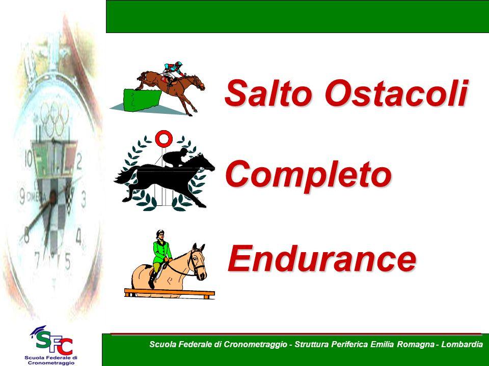 Salto Ostacoli Endurance Completo Scuola Federale di Cronometraggio - Struttura Periferica Emilia Romagna - Lombardia